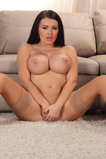 Charley Atwell Big Boobed Brunette Gets Naked-12