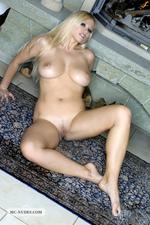 Nikita Busty Naked Blonde Babe Posing-12