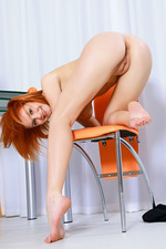 Violla A Shows Her Long Legs-16