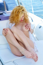 Zarina A Stripping On Boat-02