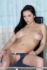 Sexy Jenya D Naked Posing-17
