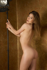 Cute Lily Naked Posing In Studio-06