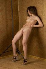 Cute Lily Naked Posing In Studio-07