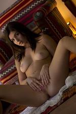 Busty Brunette Teen Leah Gotti Stripping-00