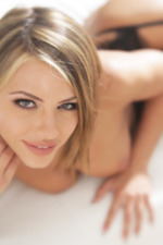 Adriana Chechik In Sexy Black Set-18