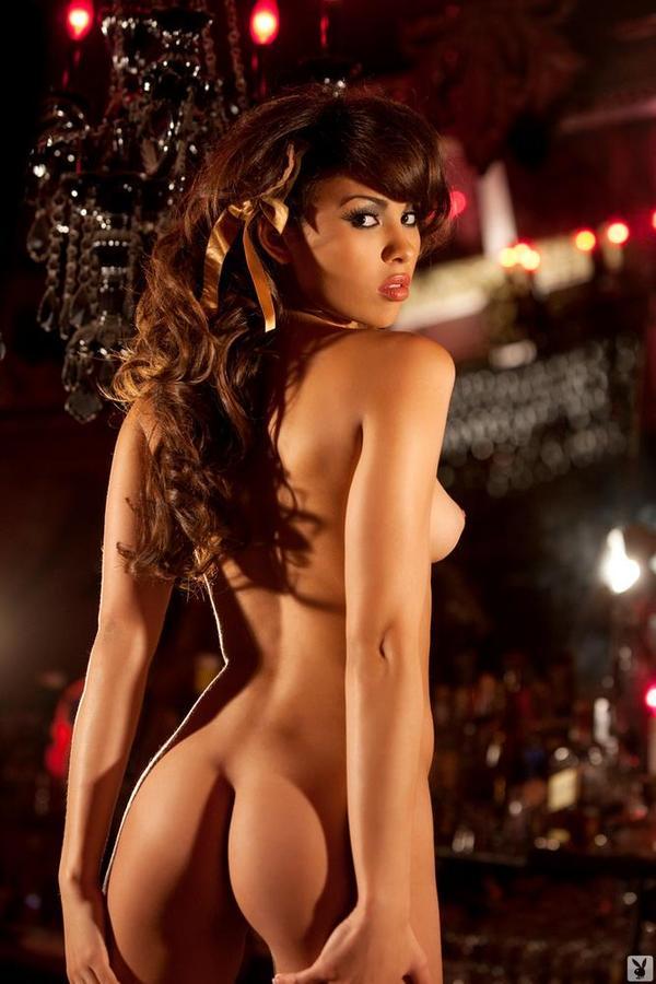 summer lena sexy ebony babe gets naked playboy 13 16