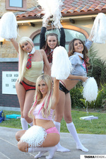 Four Hot Babes' Upskirts-01