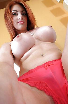 Sexy Redhead Rainia