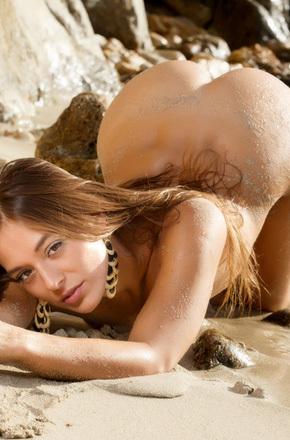 Dominika On The Beach
