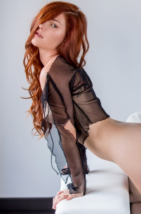 Amazing Redhead Glam