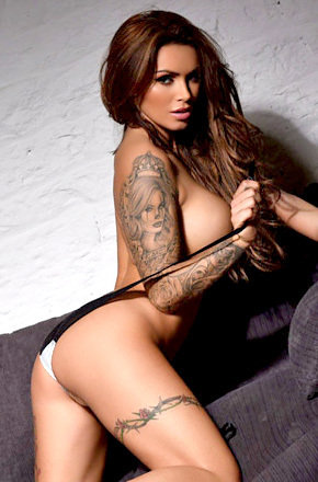 Glamour Model Gemma Massey