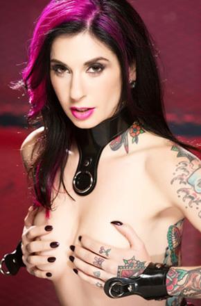 Tattooed Pornstar Joanna Angel