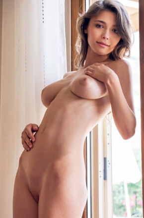 Mila Azul Natural Big Titted Russian Teen