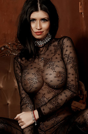 Lilly In Body Stocking