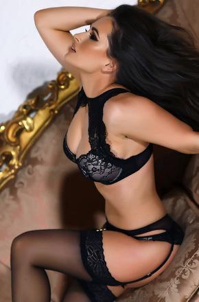 Anastasia In Black Lingerie