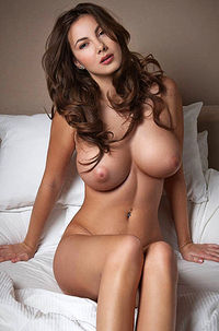 Shaved Brunette Connie