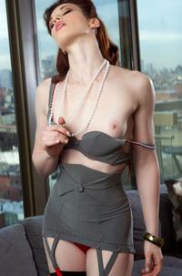 Stoya Stripping