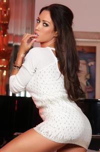 Capri Cavanni White Dress