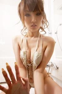 Tsubasa Amami In Bathroom