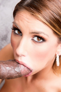 August Ames Gets Fucked By Big Black Cock
