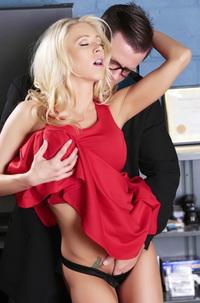 Katie Morgan Horny Secretary Makes Love In The Office