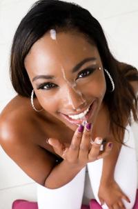 Chanell Heart Dirty Ebony Bitch Gives A Hot Blowjob