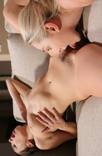 Hot Lesbian Couple Having Sex
