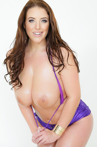 Busty Angela White Shows Her Huge Boobs