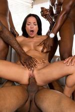 Anissa Gets Her Interracial Gang Bang Wish-08